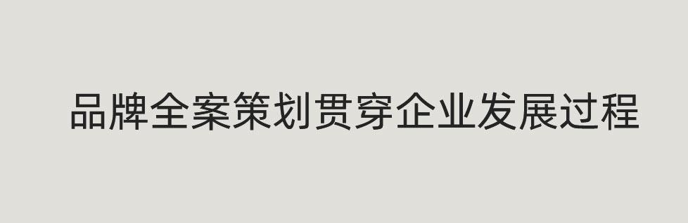 青岛品牌全案策划贯穿企业发展过程