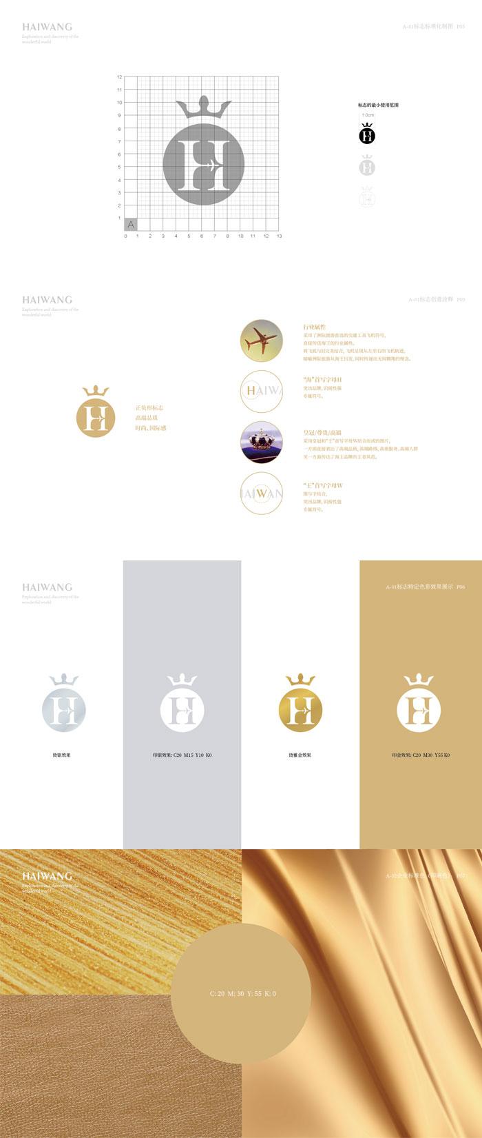 品牌全案策划,海王国际品牌升级