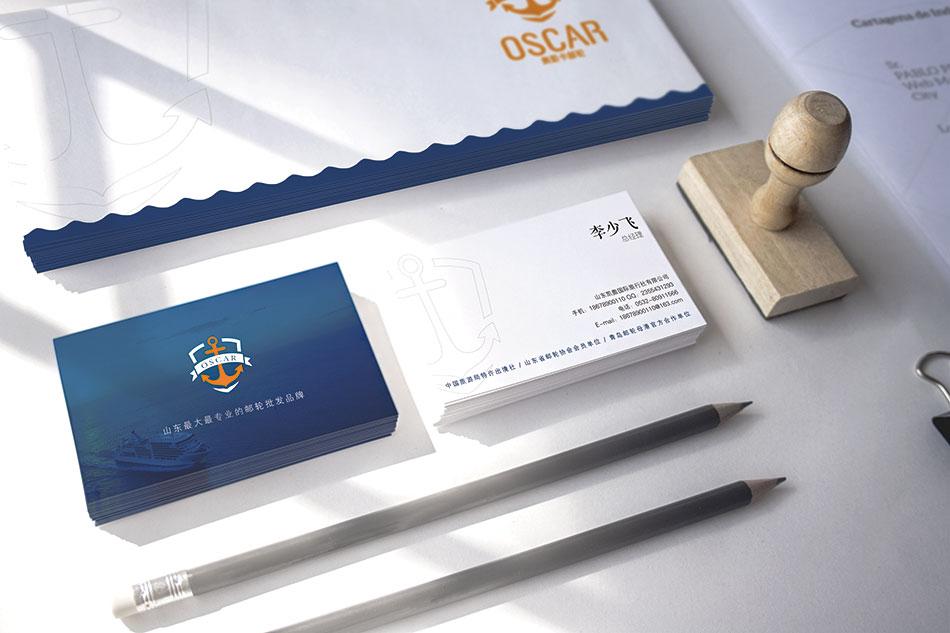 青岛游轮母港运营品牌,奥斯卡VIS设计
