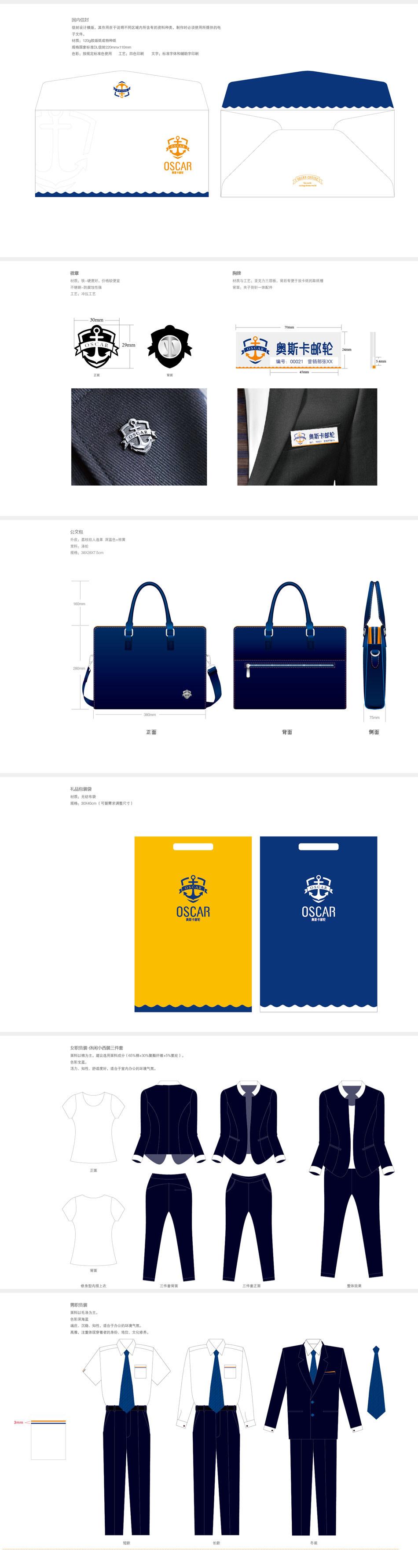 青岛华鼎纵横品牌营销策划奥斯卡VIS设计