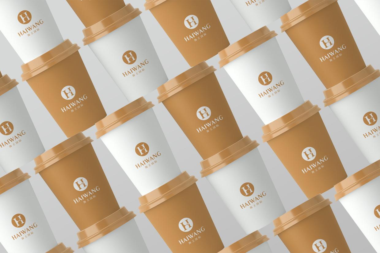 泰荣国际VI设计办公应用纸杯