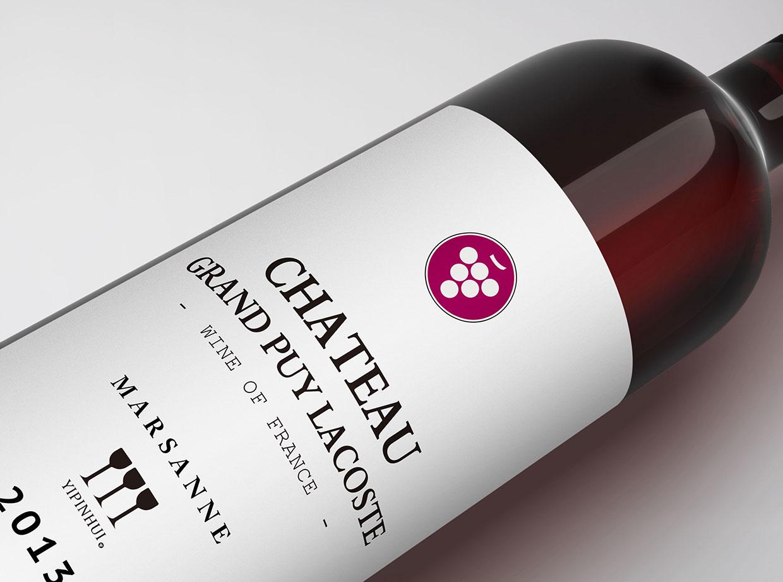 青岛品牌设计-懿品汇酒庄葡萄酒产品包装设计