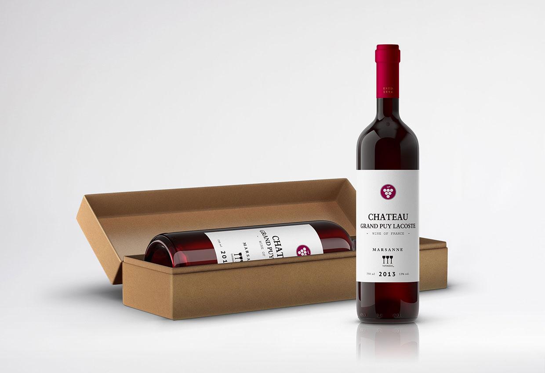 青岛品牌设计-懿品汇葡萄酒包装设计