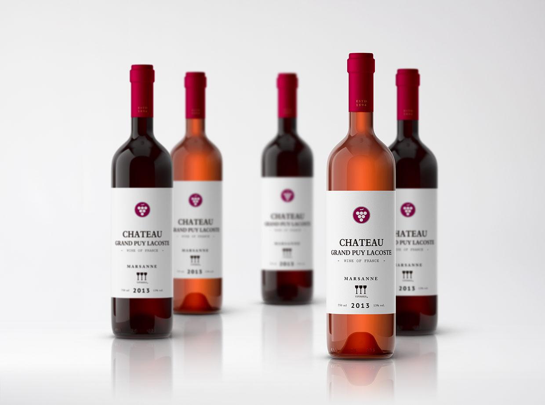 青岛包装设计-葡萄酒包装设计