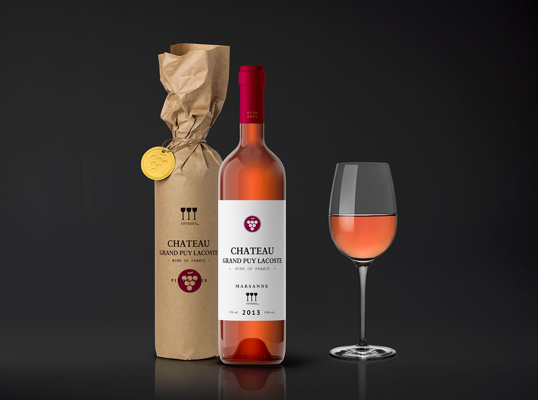 青岛包装设计公司-懿品汇i葡萄酒包装设计效果