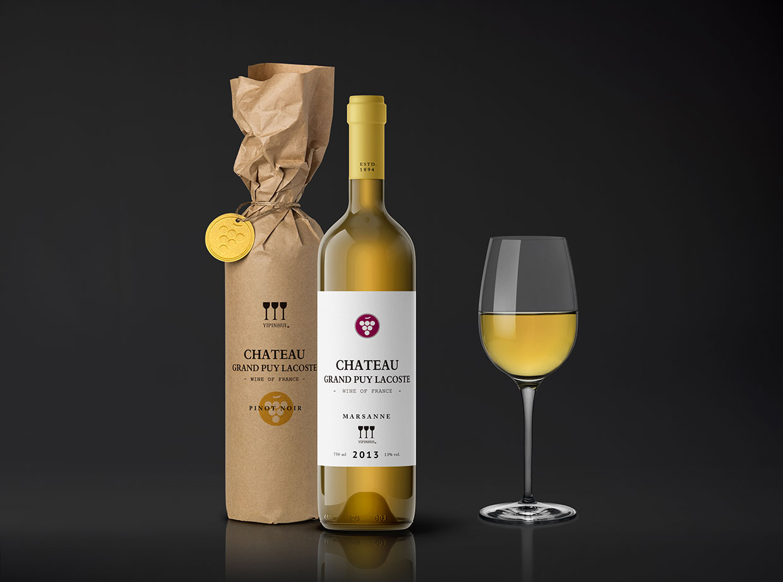 青岛包装设计公司-懿品汇i葡萄酒包装设计